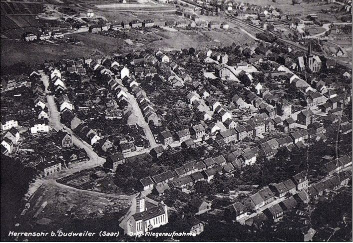 Doro Backes - Luftaufnahme um 1938