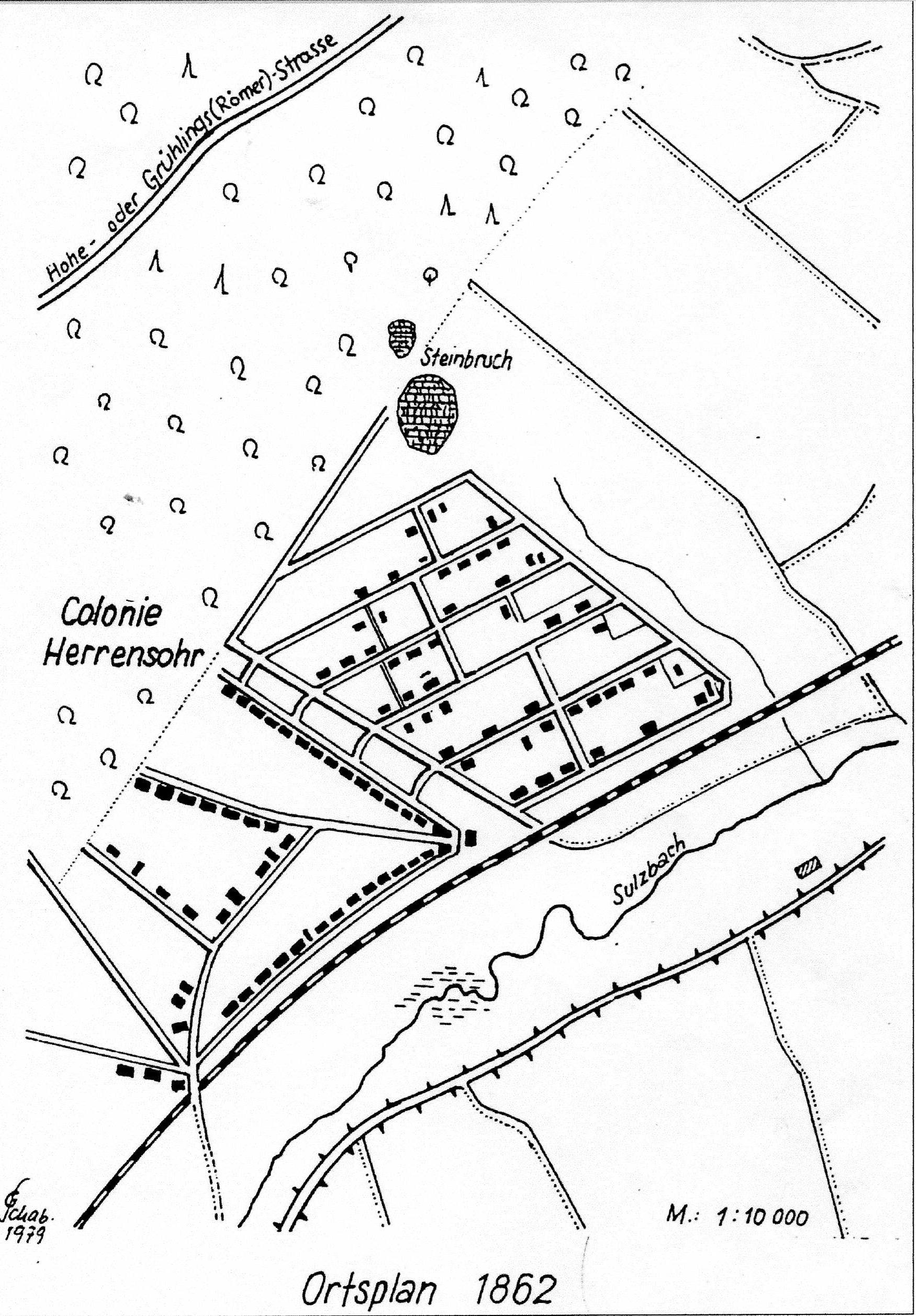 Doro Backes - Ortsplan 1862