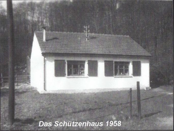 Doro Backes - Schützenhaus 1958