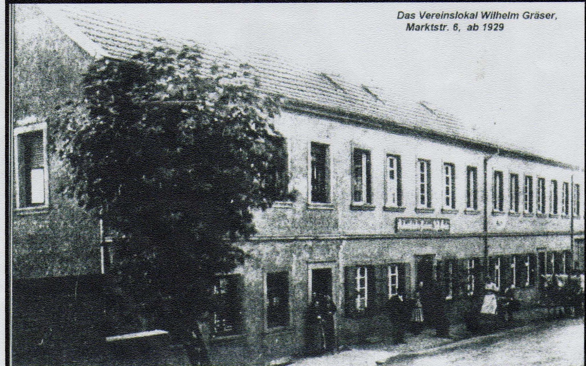 Gasthaus Gräser 1929