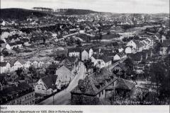 Doro Backes - Blick auf Herrensohr von Jägersfreude 1935